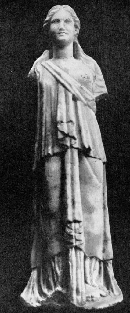 Статуя богини. Ниса II в. до н.э.