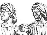 Траянова колонна. Изображение женщин на Траяновой колонне