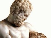 Геракл, борющийся со львом. Лисипп