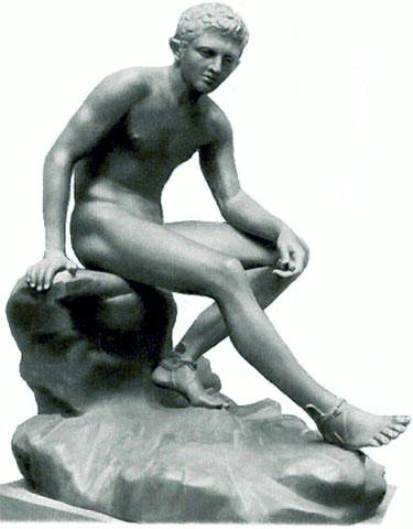 Отдыхающий Геракл. Лисипп