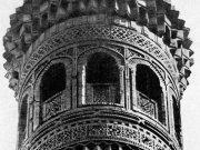 Фигурные кладки из жженого кирпича. Минарет Калан в Бухаре 1127 г.