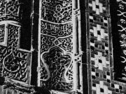 Керамические облицовки. Мавзолей Шади-Мульк в комплексе Шахи-Зинда в Самарканде. 1372 г.