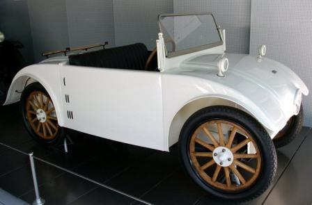 Экономичные авто. Фирма Hanomag, Cabriolet Comissbrot 1925-1928 годы