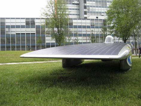Современный солнцемобиль