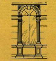«Окно Сансовино» названо по имени итальянского архитектора и скульптора эпохи Возрождения Якопо Сансовино